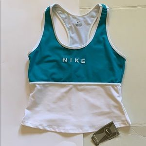 Nike Dri Fit women's tank top large 12 14 NEW NWT